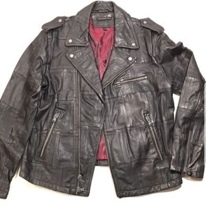 John Varvatos - Designer Leather Jacket